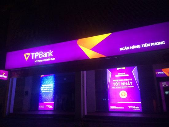 làm biển hiệu TP Bank