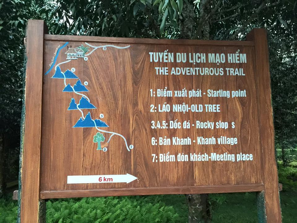 bảng chỉ dẫn du lịch
